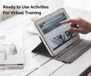 Cindy Huggett Ready to Use Activities For Virtual Training