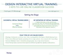 Create Classroom Training To Virtual 3 Simple Steps